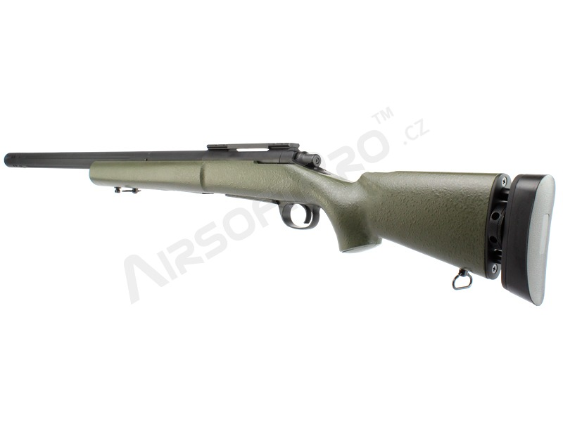 Airsoft sniper M24 Military - olivová (OD), (SW-04KG), až 170 ms ! [Snow Wolf]