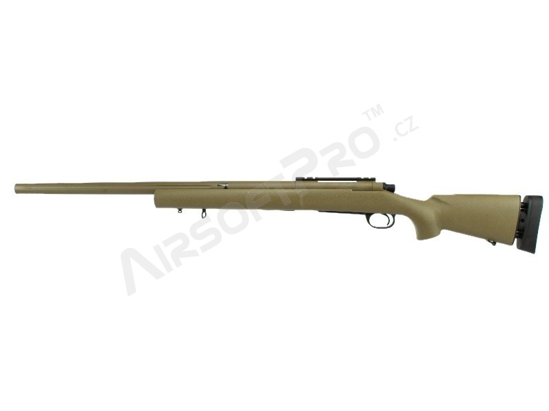 Airsoft sniper M24 Military version CM.702C až 155 m/s - TAN [CYMA]