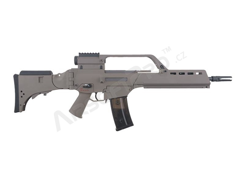 G36K with scope (SA-G14V), EBB rifle replica, TAN [Specna Arms]