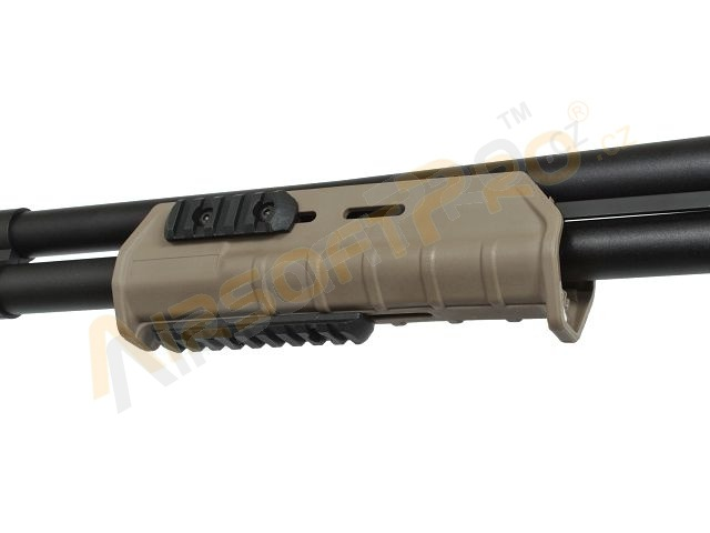Airsoft shotgun MAP style M870, fullmetal - TAN - UNRELIABLE [A.C.M.]