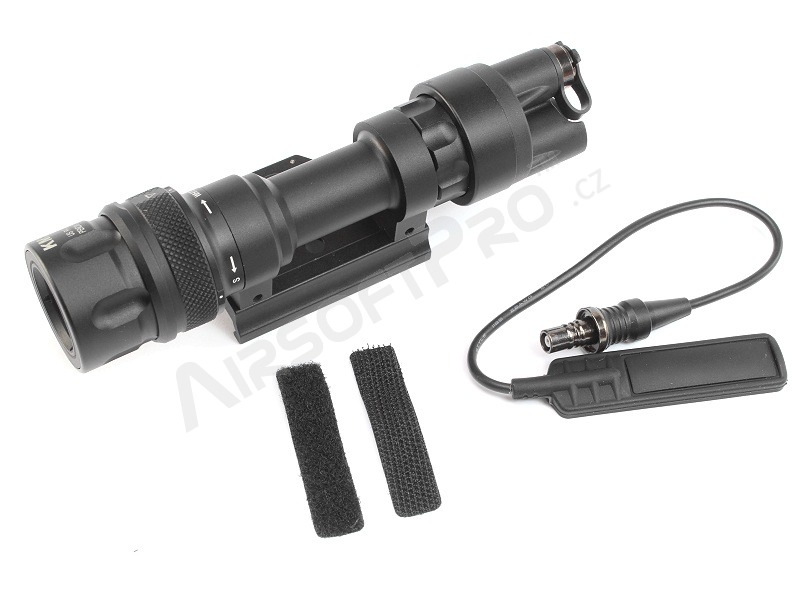 M952 LED Tactical Flashlight with the QD RIS gun mount - black [Target One]