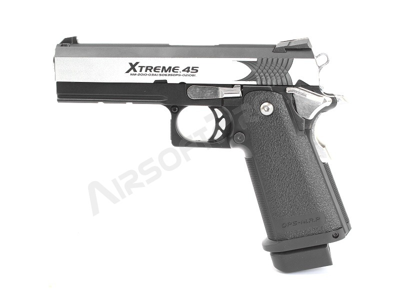Airsoftová pistole Hi-Capa Xtreme .45 FULL AUTO , plyn blowback (GBB) [Tokyo Marui]