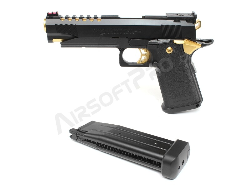Airsoftová pistole Hi-Capa 5.1 Gold match, plyn blowback (GBB) [Tokyo Marui]