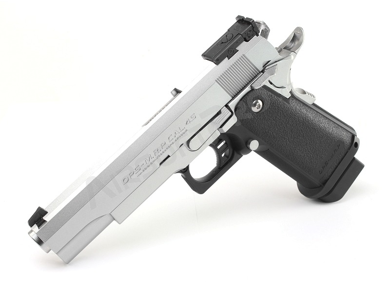 Airsoft pistol Hi-Capa 5.1 Stainless, gas blowback (GBB) [Tokyo Marui]