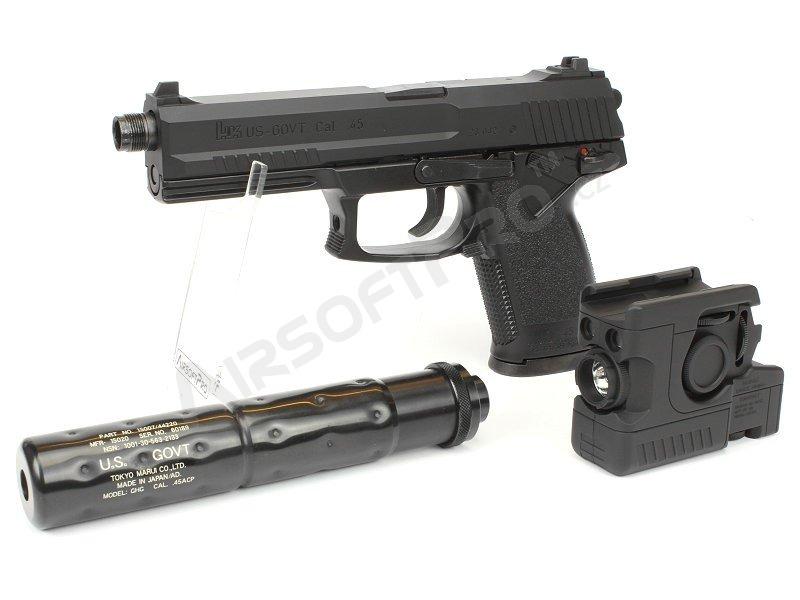 Other gas guns : MK23 SOCOM - set with silencer and flashlight, gas