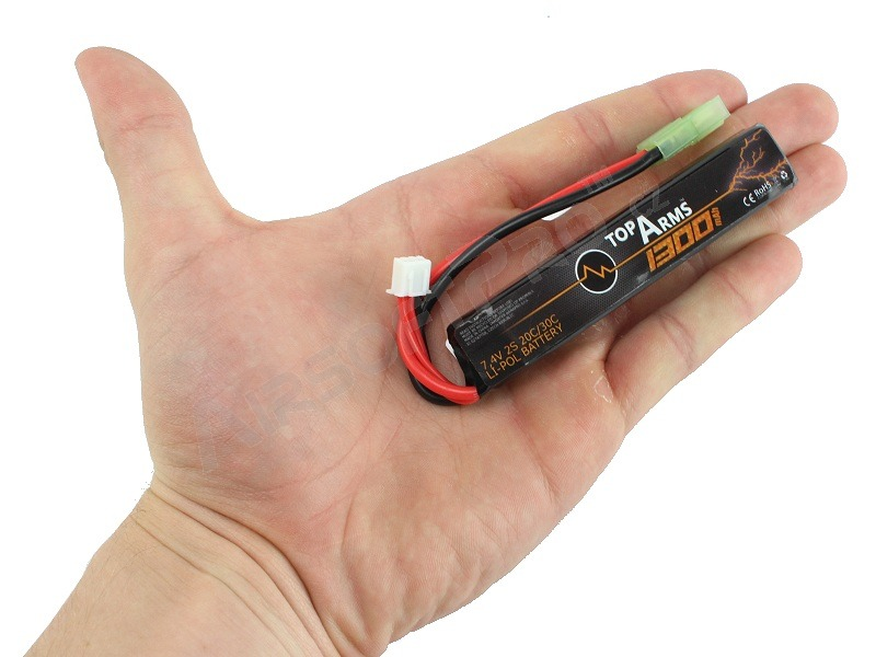 Battery Li-Po 7,4V 1300mAh 20C/30C [TopArms]
