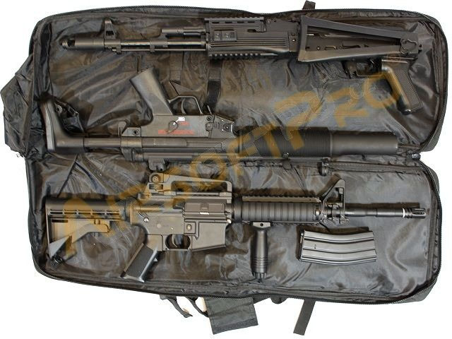 For long guns : Twin assault rifle carrying bag - 60 and ...