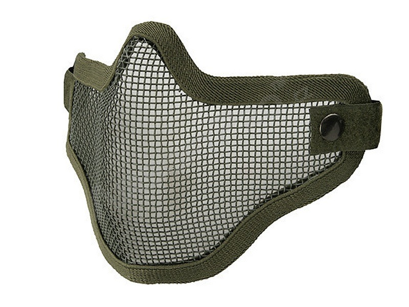 Face protecting stalker style mesh mask - OD [Ultimate Tactical]
