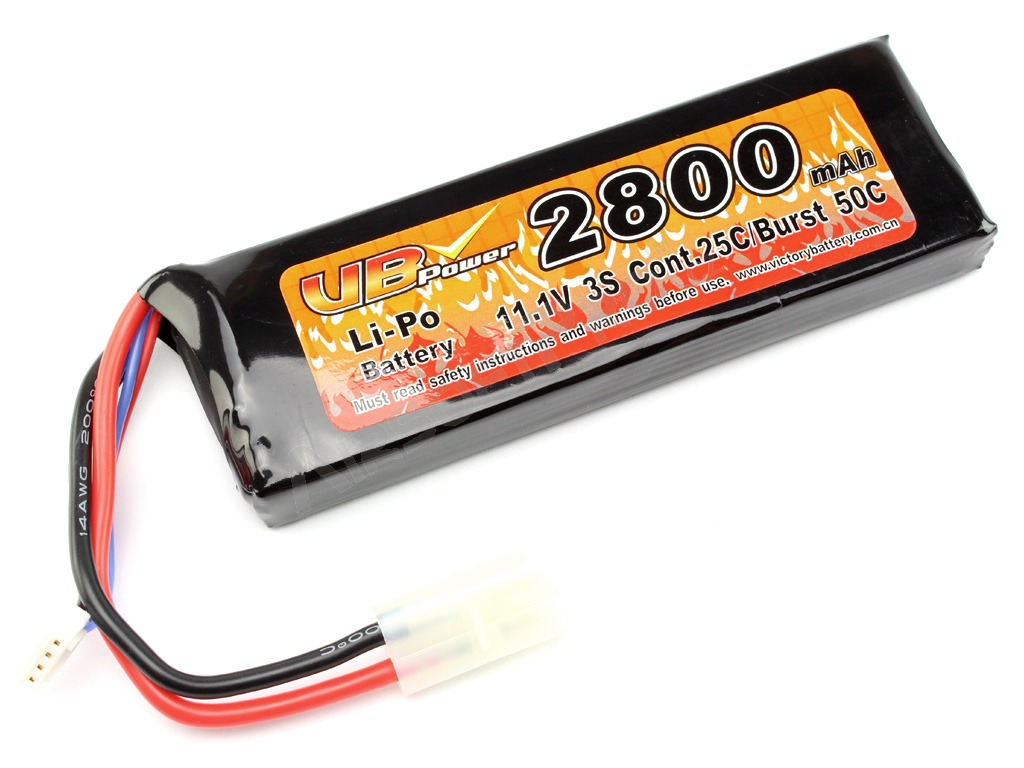 Akumulátor Li-Po 11,1V 2800mAh 25C - Large block [VB Power]