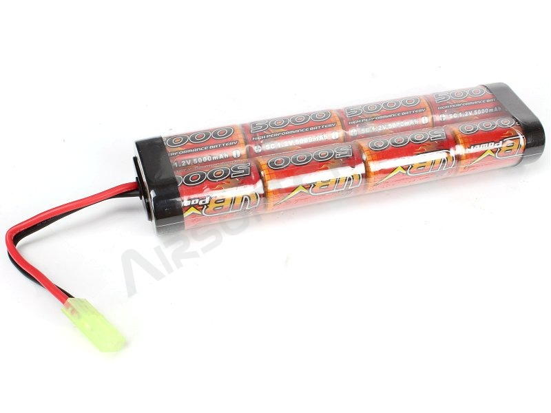 Akumulátor NiMH 9,6V / 5000mAh - Large block [VB Power]