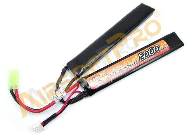 Akumulátor Li-Po 7,4V 2000mAh 15C [VB Power]
