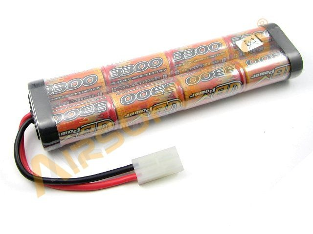 Akumulátor NiMH 9,6V / 3300mAh - Large block [VB Power]