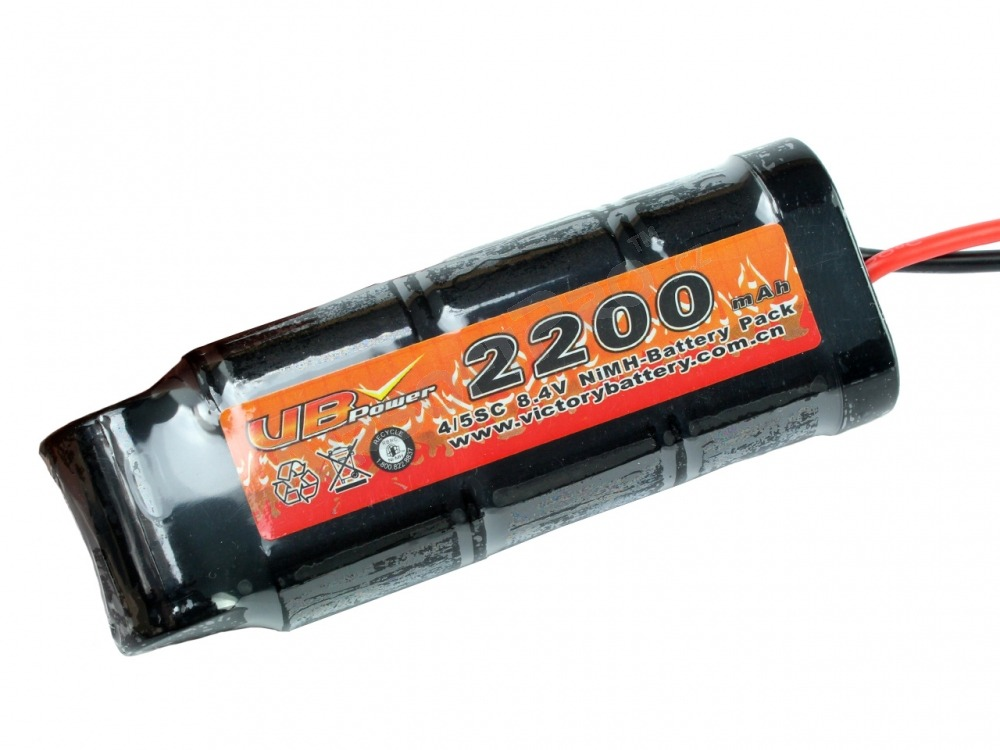 Akumulátor NiMH 8,4V 2200mAh - Medium block [VB Power]