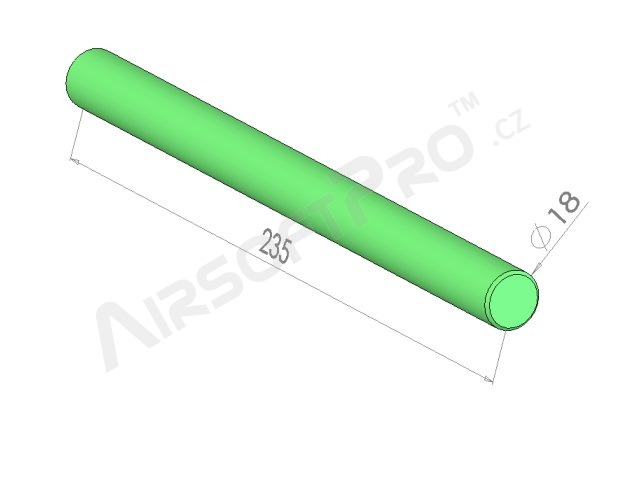 Akumulátor NiMH 9.6V / 1600mAh - AK Mini stick [VB Power]