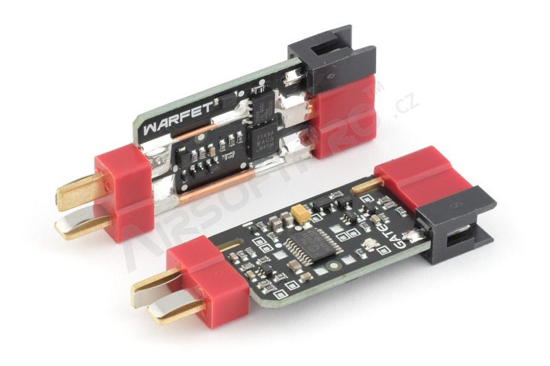 WARFET 1.1™ programmable AEG MOSFET Gen.3 with active brake [GATE]