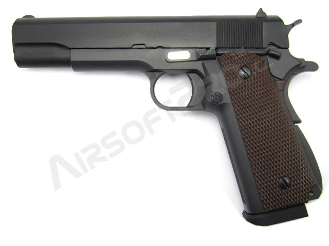 Airsoft pistol M1911 A1 - gas blowback, full metal, double column [WE]