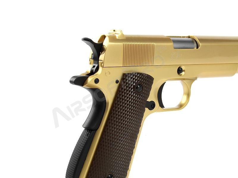 M1911 A1 - gas blowback, full metal - 24K gold plated [WE]