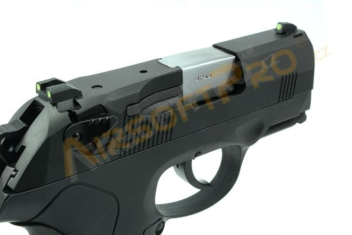 Airsoft pistol Compact Bulldog - 2x magazine, black, blowback [WE]