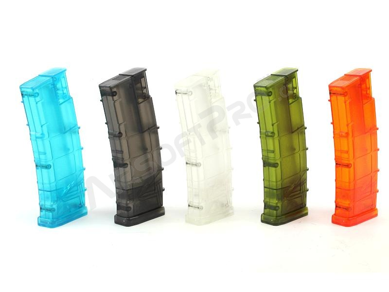 Airsoft 450 rds M4 mag style speed Loader - green [6mm Proshop]