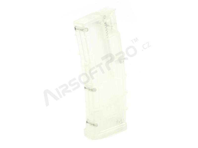 Airsoft 450 rds M4 mag style speed Loader - clear [6mm Proshop]