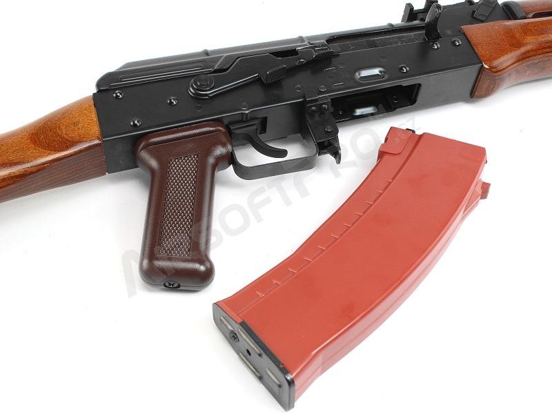 Long gas guns : AK 74 GBB - full metal, blowback - real wood