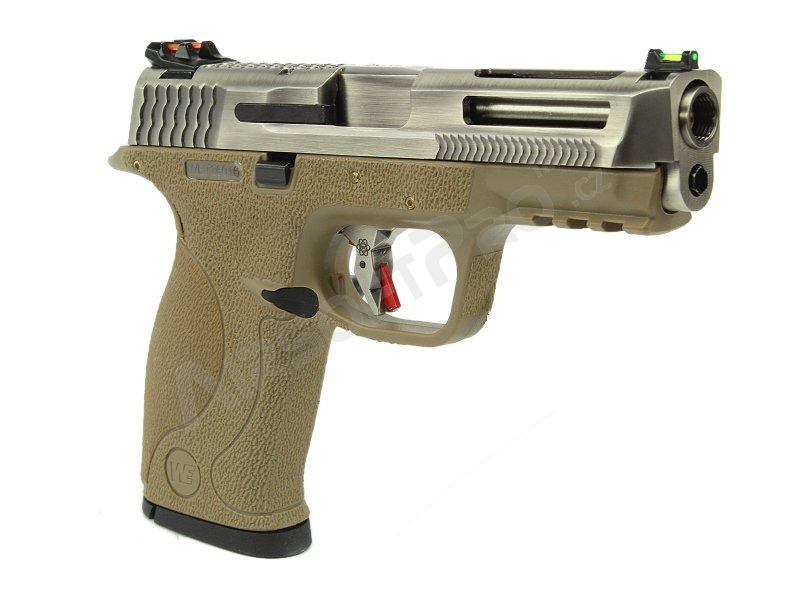 Airsoft pistol BB FORCE T7 B SV Stealth Slide / SV Barrel / TAN Frame [WE]