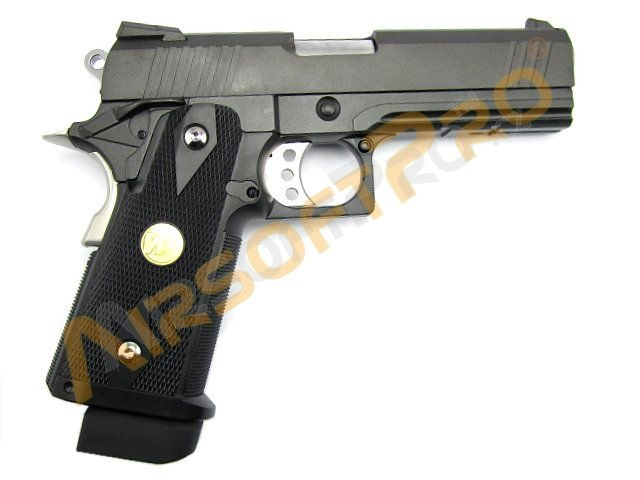 Airsoftová pistole Hi-capa 4.3 - celokov, blowback - CO2 [WE]