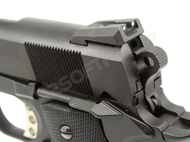 Airsoft pistol M.E.U. SOC BK, fullmetal, blowback [WE]