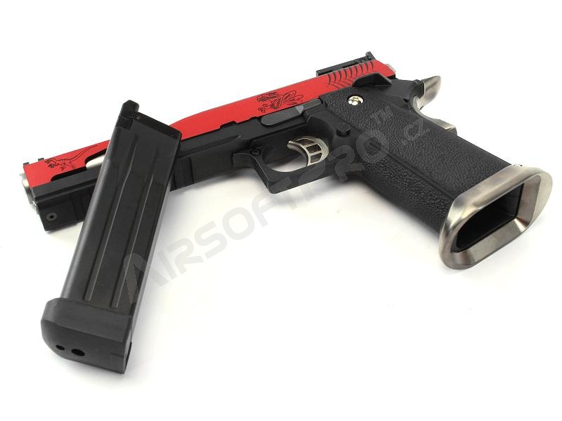 Airsoftová pistole Hi-Capa 6″  T-Rex Competition (RED) - GBB, celokov [WE]