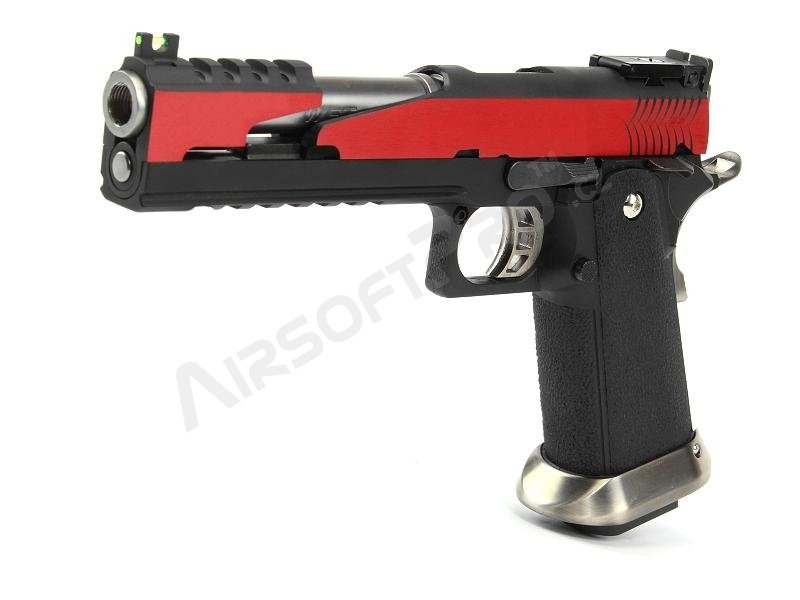 Airsoft pistol Hi-Capa 6″  T-Rex Competition (RED)  - GBB, full metal [WE]