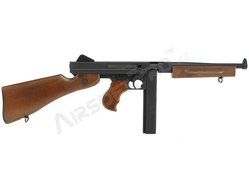 Airsoft M1A1 - full metal, wood like stock (GBB) [WE]