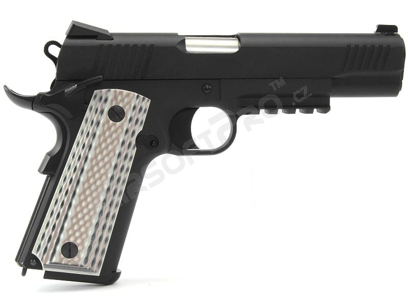 Airsoft pistol M45 A1 - GBB, full metal, black [WE]