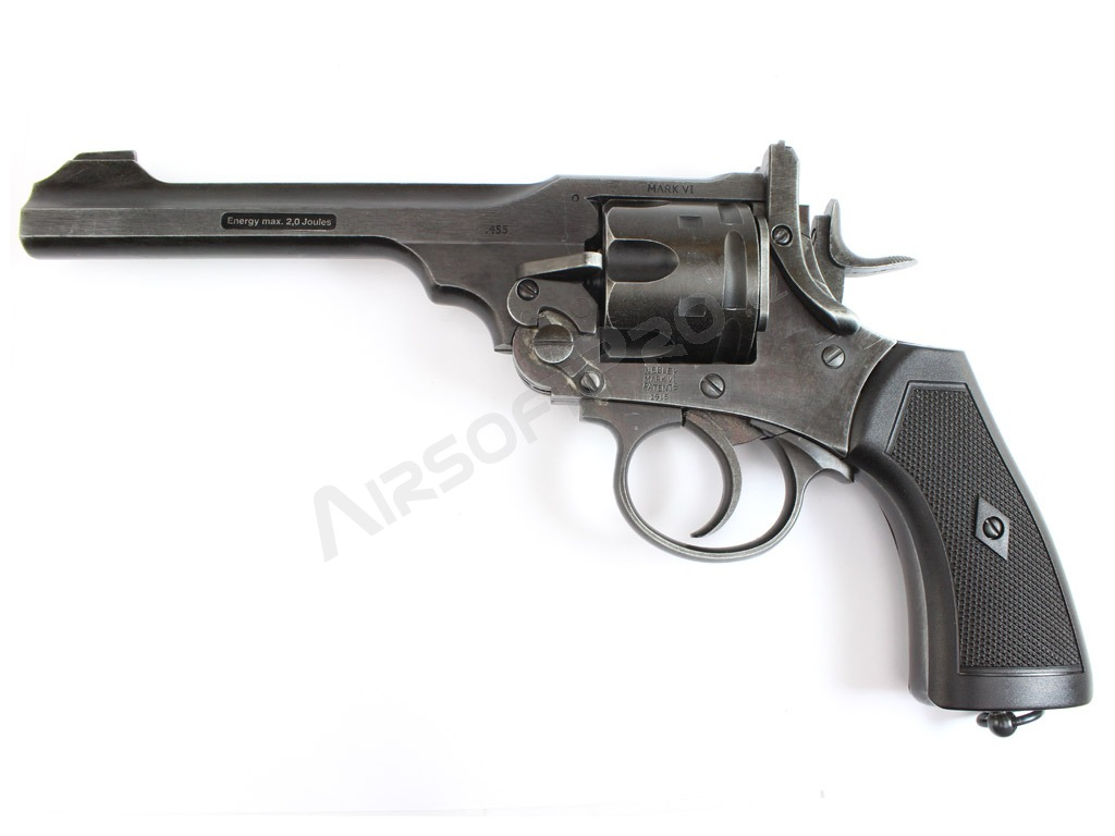 Revolver 792W Webley Mk.VI .455 CO2 Battlefield finish [WG]